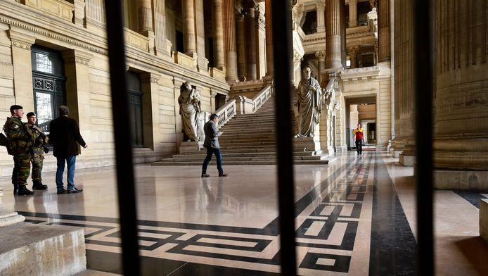 La palais de Justice de Bruxelles.