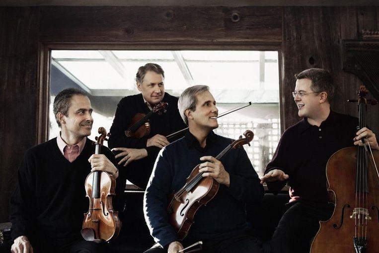Het Emmerson Kwartet is een van de strijkkwartetten die aanwezig zullen zijn op het festival Beeld Lisa-Marie