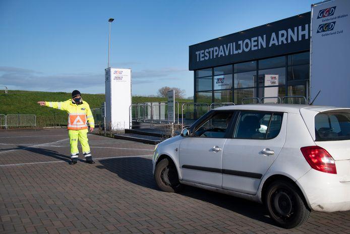 Het Testpaviljoen Arnhem-Nijmegen bij Lent.