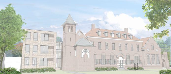 Foto van vernieuwd Klooster Waalre