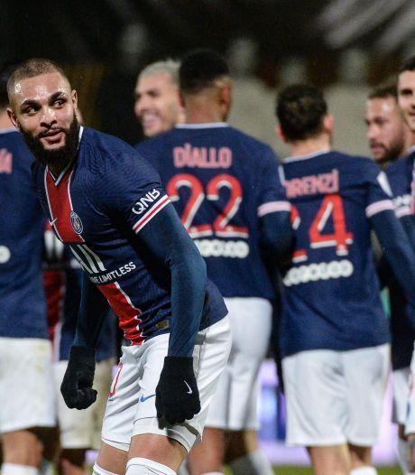 Paris Saint-Germain koploper na winst bij Angers