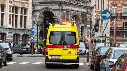 Vier lichtgewonden bij woningbrand in Schaarbeek