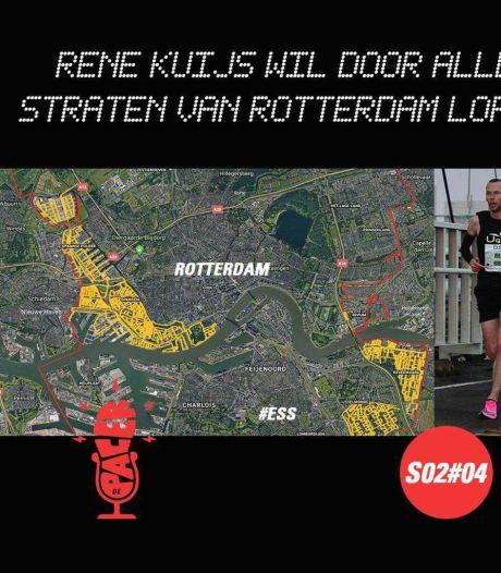 Podcast | Rene Kuijs wil door álle straten van Rotterdam hardlopen