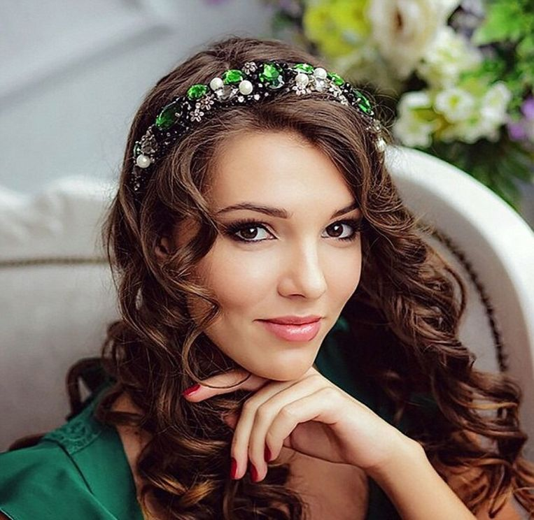 Maria Lebedeva stond te boek als ware schoonheidskoningin.