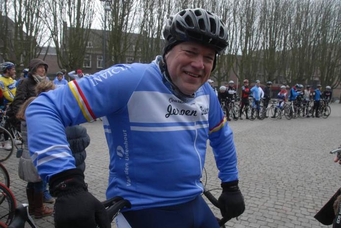 Frans-Joseph Sinjorgo, een van de kartrekkers van Coureursclub Jeroen Bosch.