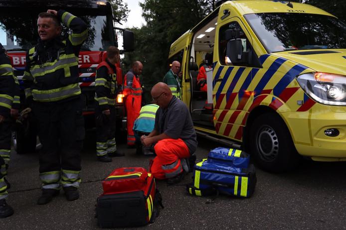 Ongeval in Casteren.