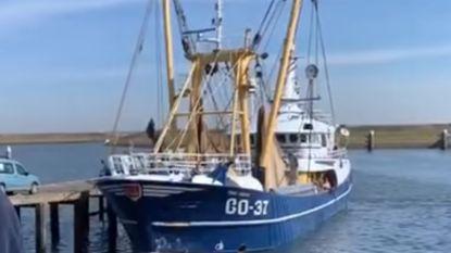 Benen en voeten in Nederlands vissersnet zijn van één man, maar identiteit blijft raadsel
