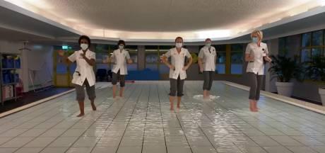 Ook personeel Utrechts revalidatiecentrum De Hoogstraat danst mee met Jerusalema Challenge
