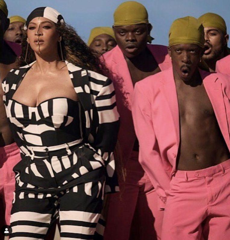 Nick Coutsier mocht aan de zijde van Beyonce dansen