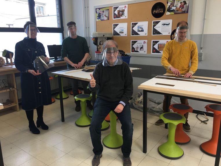 De gelaatsmaskers van Githo Nijlen.
