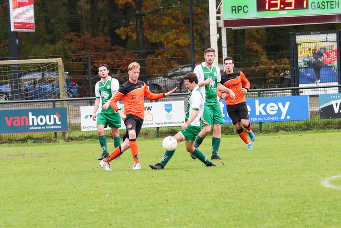 Derdeklasser RPC dit seizoen in actie thuis op het sportpark aan de Aalsterweg tegen SBC.