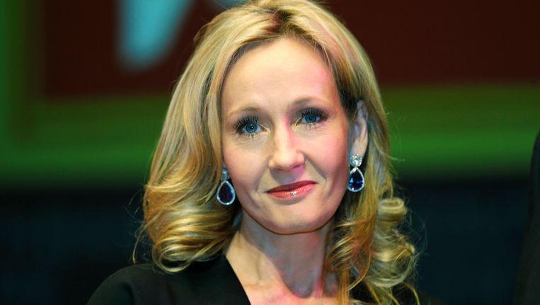 De Britse schrijfster J.K. Rowling.