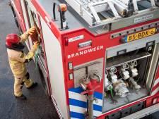 Brand in zonnepanelen door blikseminslag op IJburg