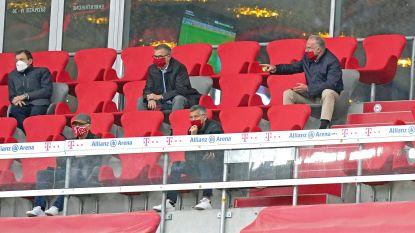 ... nodigt Beckenbauer mét mondmasker uit