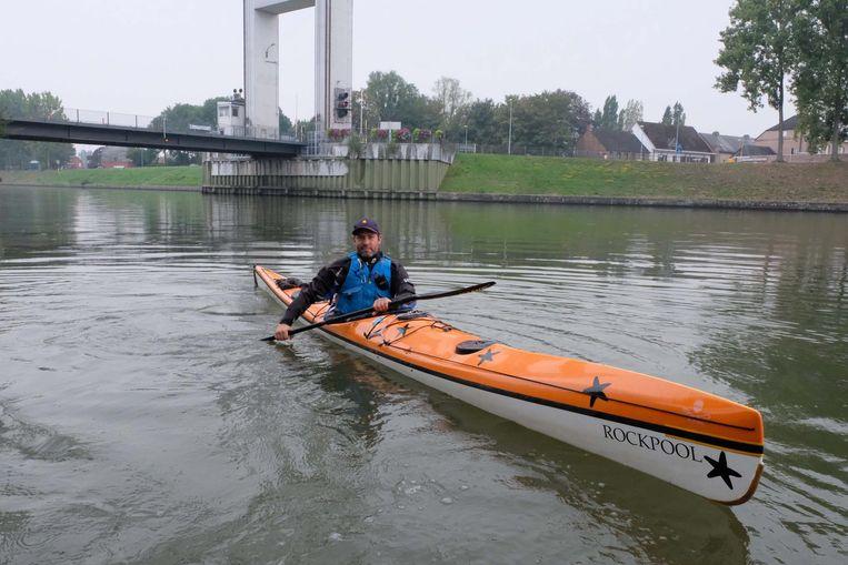 Steve Vercauteren tijdens een van zijn trainingen.