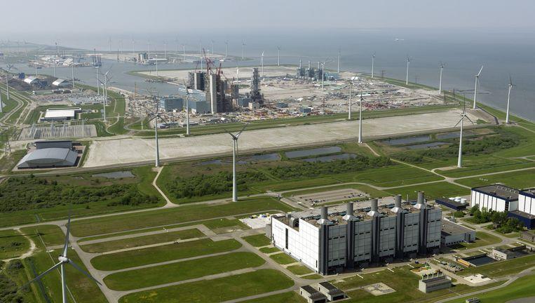 Twee van de vijf eenheden van de Eemscentrale bij Delfzijl gaan per 1 januari dicht. Beeld ANP