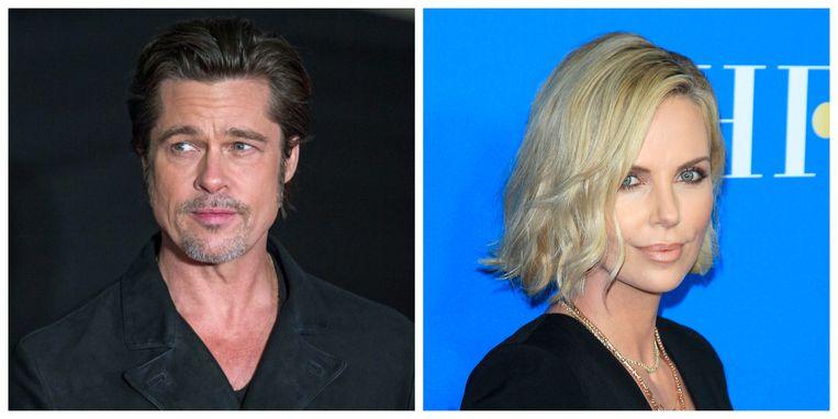 Brad Pitt en Charlize Theron