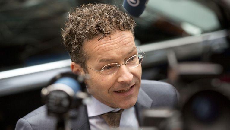 Minister van Financiën Jeroen Dijsselbloem. Beeld ap