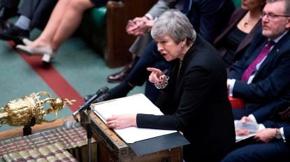 May geeft toe: Brits parlement mag in maart stemmen over uitstel brexit