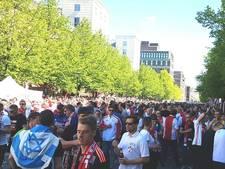 LIVE: Ajax-fans vieren al feest in Zweden