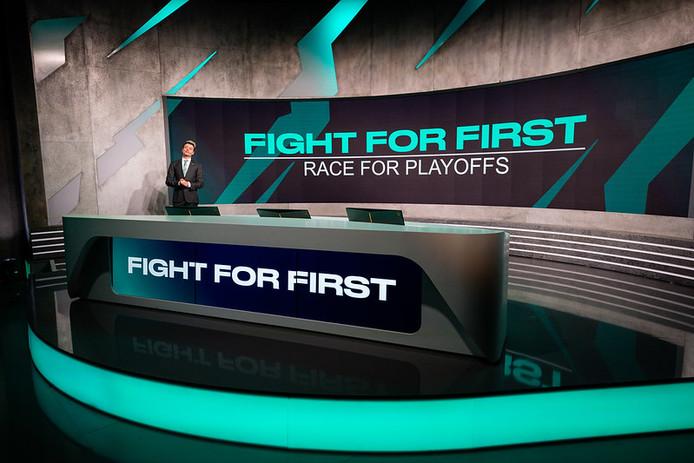 De strijd om de eerste plaats ligt nog helemaal open in de Europese League of Legends-competitie.