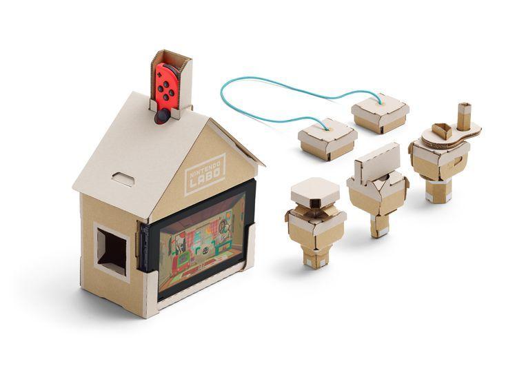 De 'huis'-variant van Nintendo Labo Beeld Hosokawa Shingo