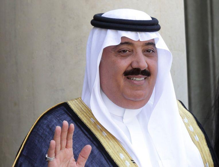 Onder andere prins Miteb bin Abdullah, het hoofd van de Nationale Garde, werd gearresteerd.