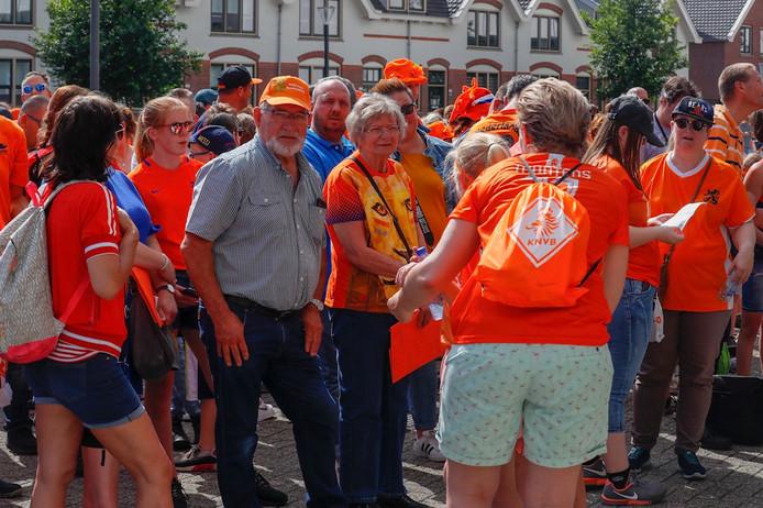Eindhoven stroomt zaterdag vol met Oranjefans.