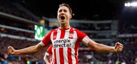 PSV kan niet zonder Luuk de Jong