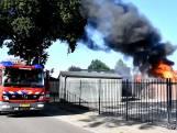Uitslaande schuurbrand in Westerhaar-Vriezenveensewijk