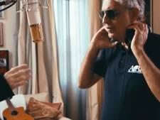 Ed Sheeran in duet met Andrea Bocelli in zijn Toscaanse villa