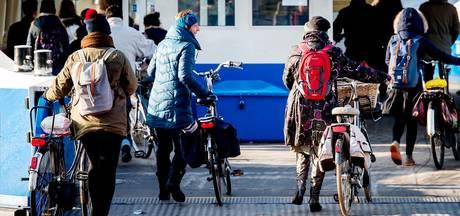 Amsterdam niet in top 100 beste fietssteden