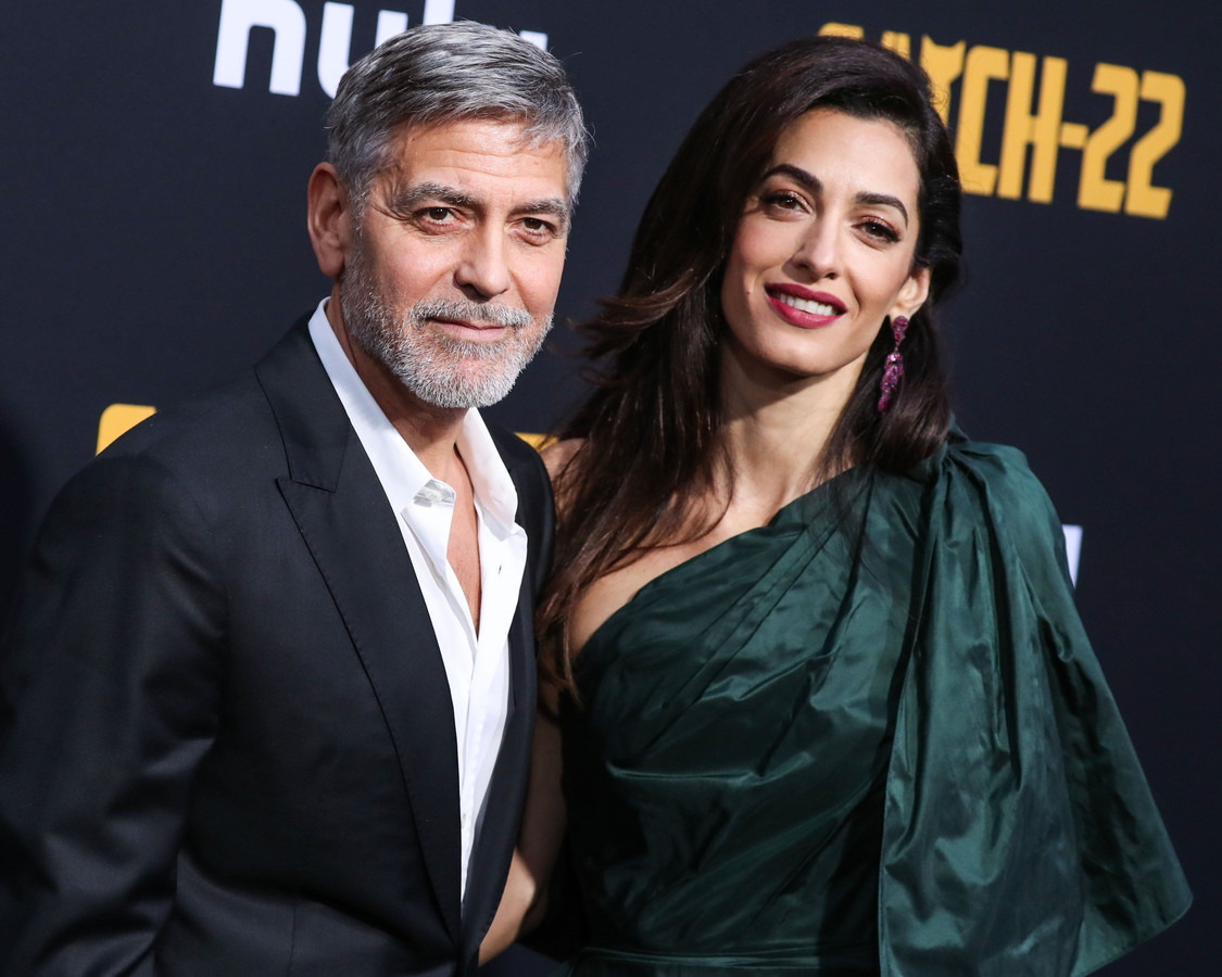 George Clooney et son épouse, Amal