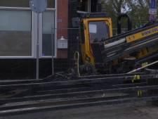 Operatie met mega-boor in Enschede: Vitens verlegt waterleiding