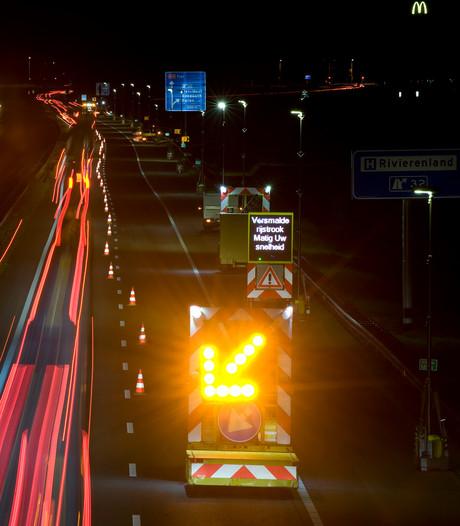 A73 en A15 dit weekend op slot voor onderhoud