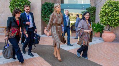 Koningin Máxima is 'trending' in Pakistan... omdat ze haar eigen tas draagt