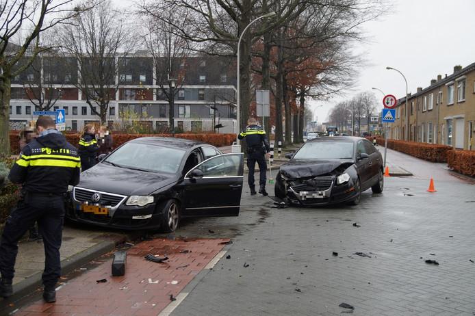 Bij het ongeval in Waalwijk is een gewonde gevallen.