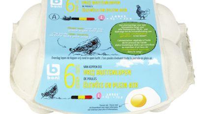 Colruyt en OKay roepen eieren van kippen met vrije uitloop van merk Boni Selection terug