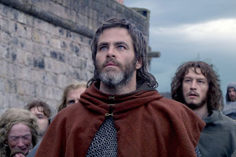 Chris Pine in Outlaw King. Beeld