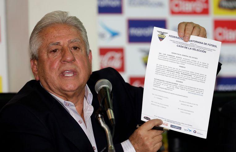 Luis Chiriboga.