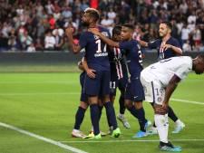 Doelpuntenproductie van winnend PSG komt na rust pas op gang
