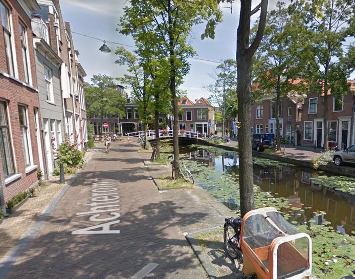 De Achterom in Delft.