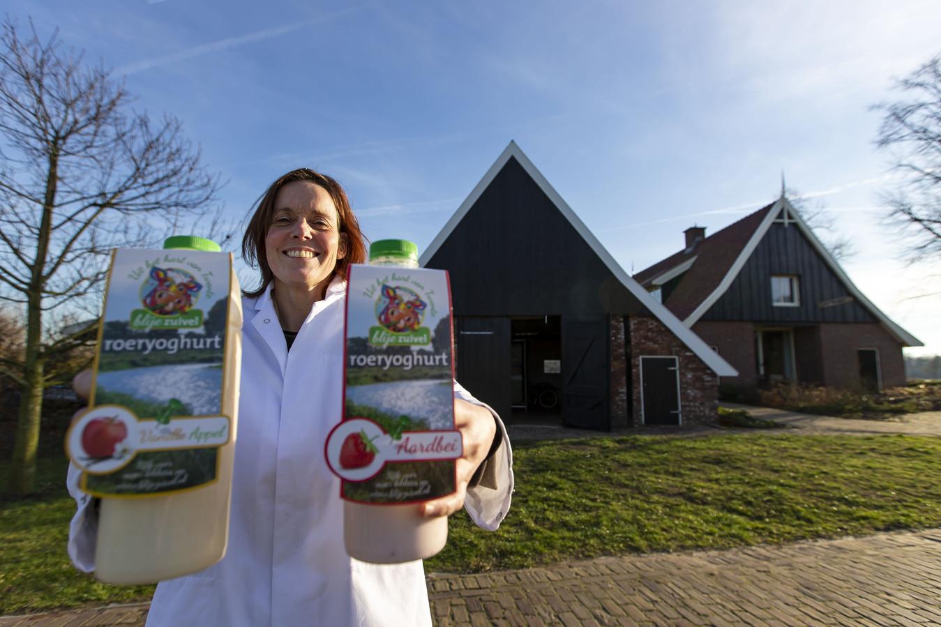 Willemien Bonthuis gaat Oermelk verkopen.