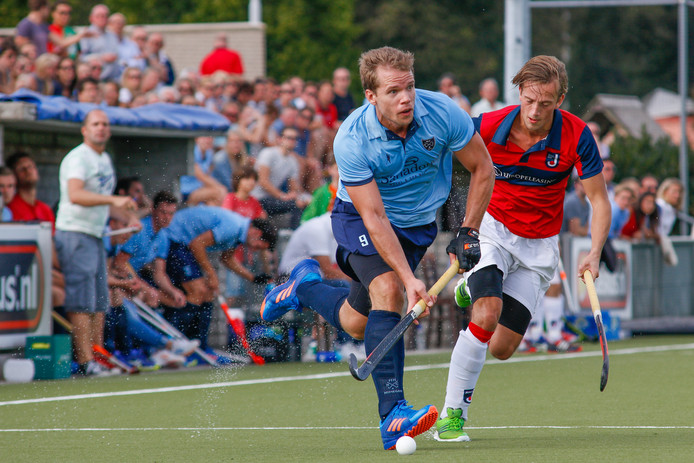 NMHC'er Olaf Beks stoomt op. Foto: David van Haren