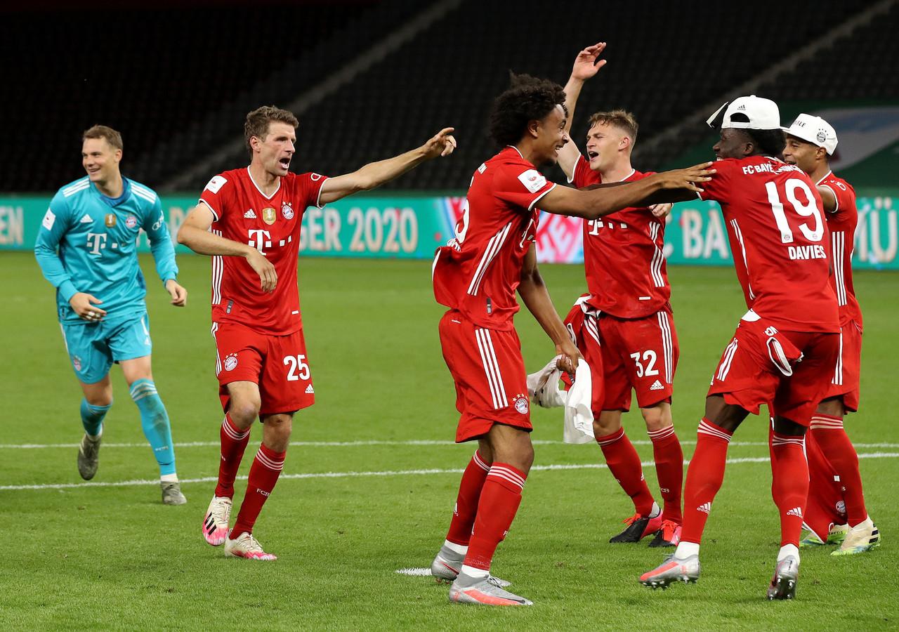 Bayern München viert feest.