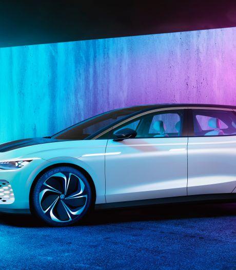 Elektrische stationwagon van VW komt 590 kilometer ver