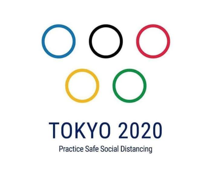 Social Distancing na de streep door de Olympische Spelen.