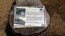 Het informatiebord van Gôolse Geheimen.