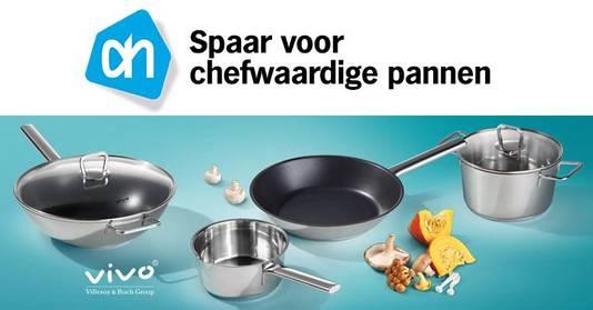 Albert Heijn stelt dat de pannen bij goed gebruik ongevaarlijk zijn.