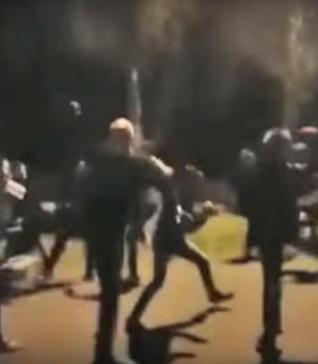 Vier mannen opgepakt voor massale vechtpartij supporters Vitesse en PSV